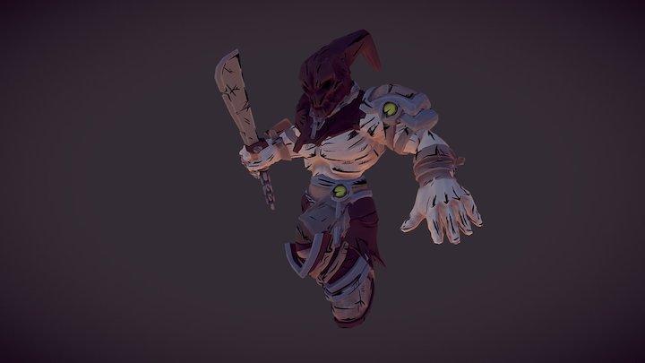 Slasher 3D Model