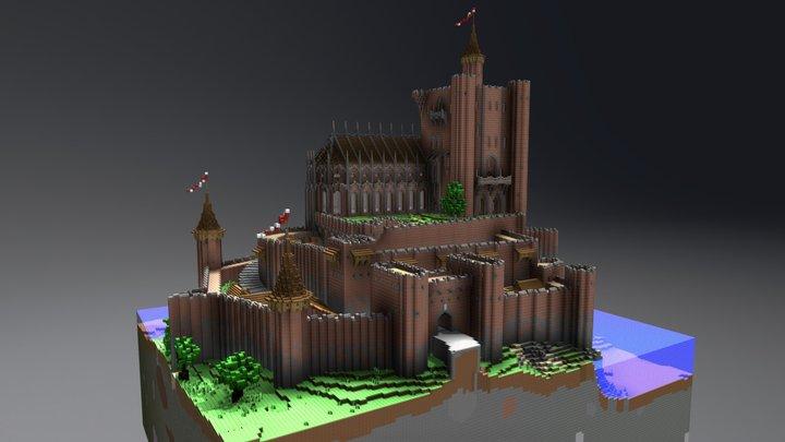 Thunderhall Castle 3D Model