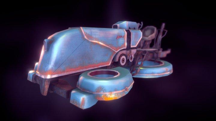 Gravity bicycle - Skyforge 3D Model