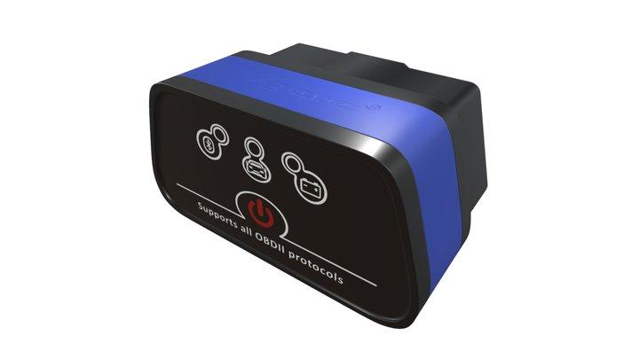 Interfejs Diagnostyczny / Diagnostic Scanner 01 3D Model