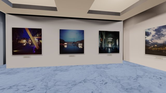 Instamuseum for @giulia_mameli 3D Model