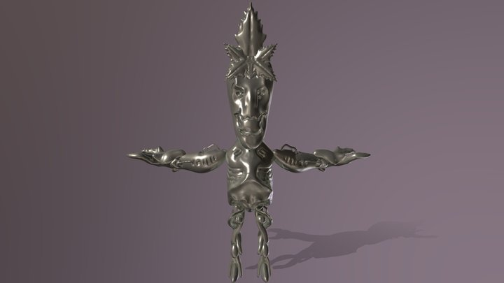 Hazebot 3D Model