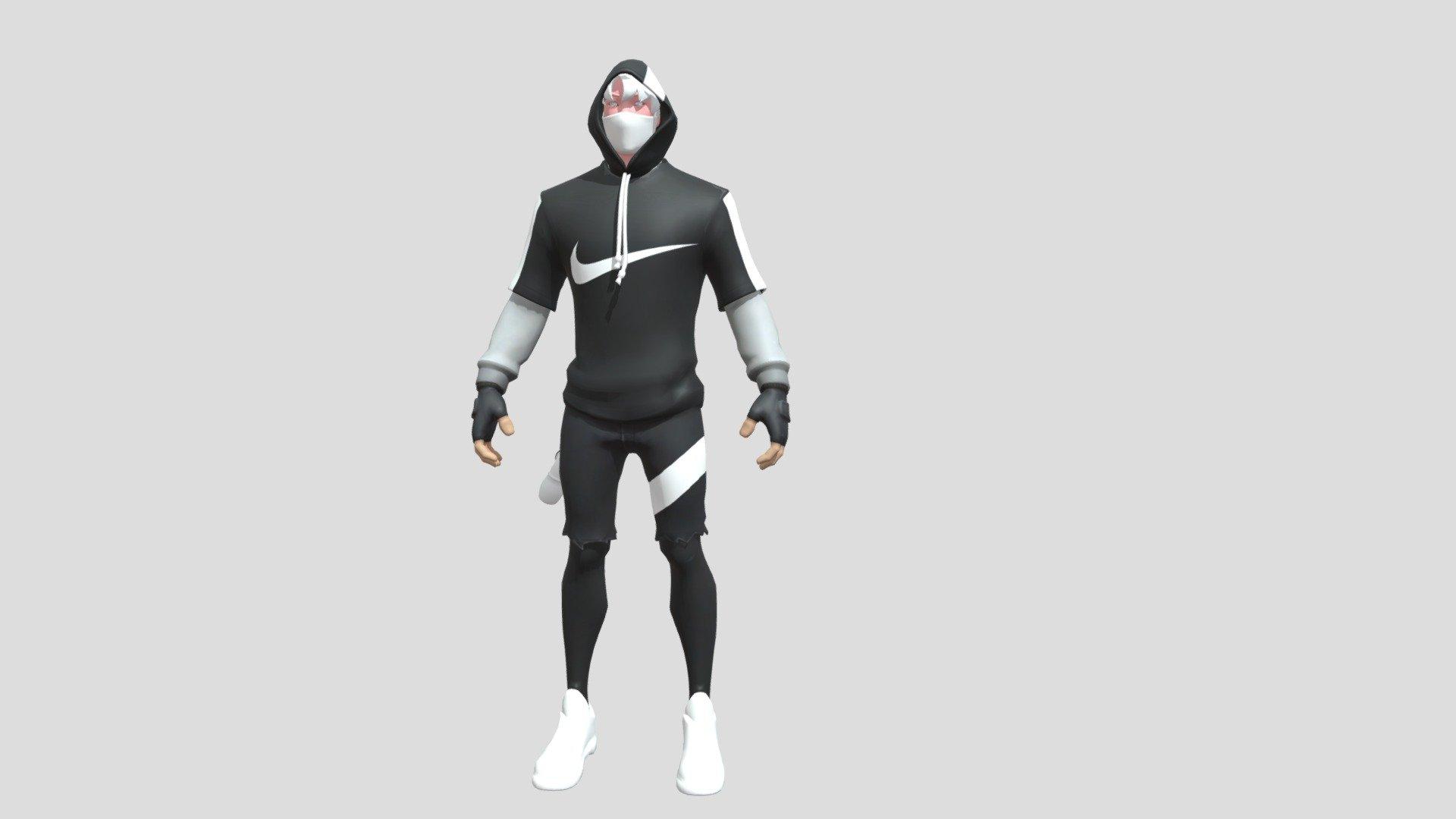 Fortnite Skin Ikonik X Nike Download Free 3d Model By Fabien Rdz 38 Fabien Rdz 38 1725c2c Sketchfab
