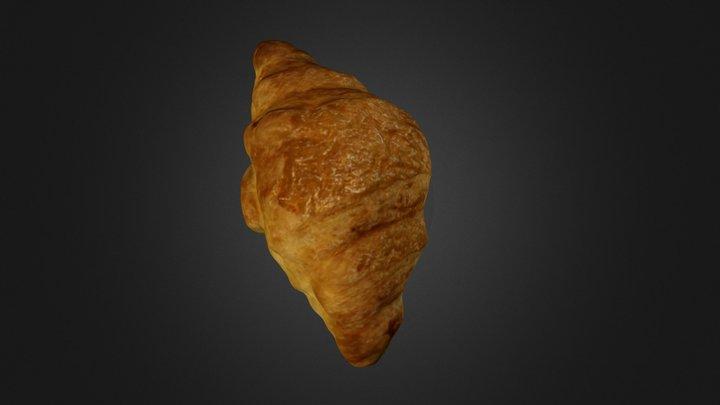 The Croissant 3D Model