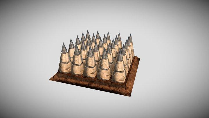 Spikes 3D Model