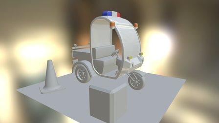 Meter Maid Mobile 3D Model
