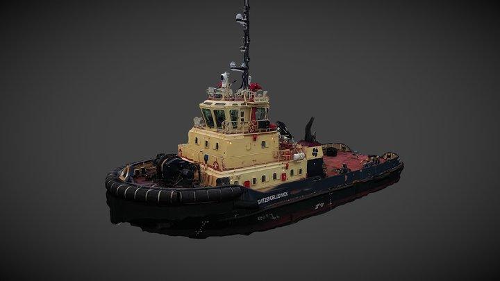 Svitzer Gelliswick - Fishing boat 3D Scan 3D Model