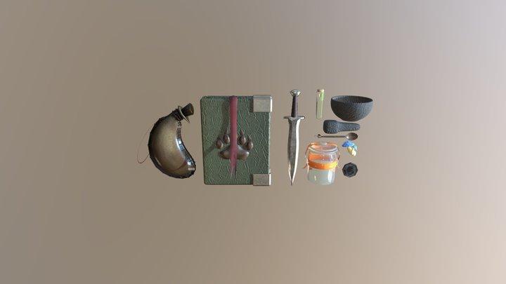 7 Concepts 3D Model