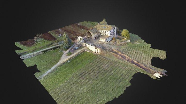 Felssturz Tarmin 3D Model