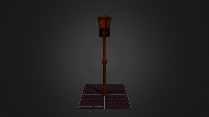 Lantaarn Jonas Smeets DAE12 3D Model