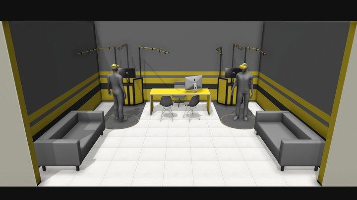 VR v1 3D Model