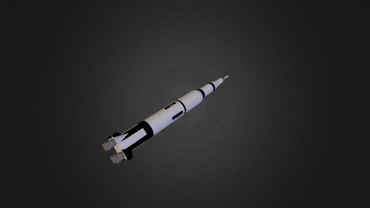 NASA Saturn V 3D Model