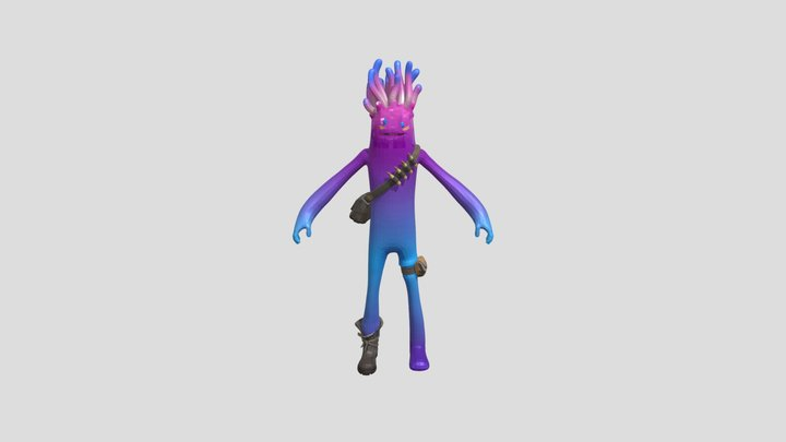 Fortnite Skins 🐙 Jellie Skin 3D Model