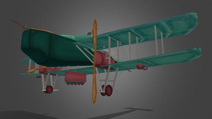 """""""The Traveler"""" WWI plane Strooybants Glenn 3D Model"""