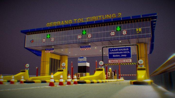 Gerbang Tol Cibitung 2 3D Model
