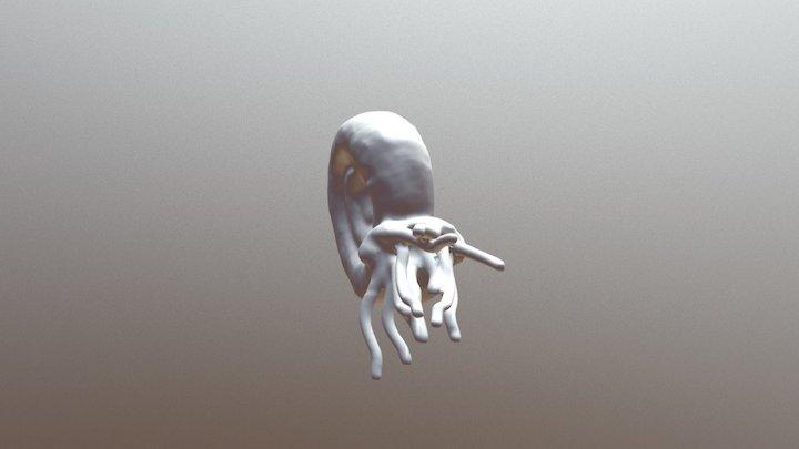 Ammonite 3D Model