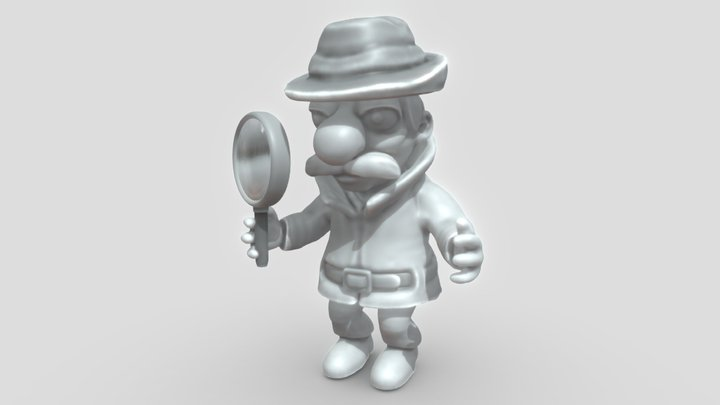 Inspector (High-Poly Version) 3D Model