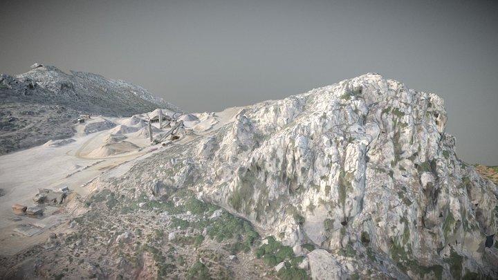 ETAFAT : Carrière Nord Maroc par Drone 3D Model