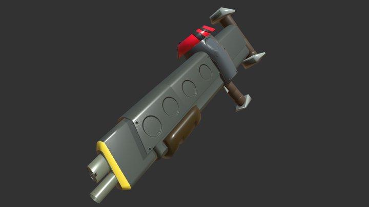 Scrattershot 3D Model
