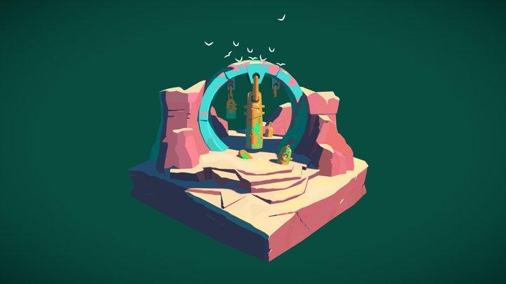 Ancient sanctuary 3D Model