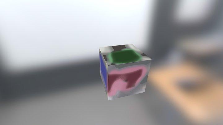 cubo_prova_text 3D Model