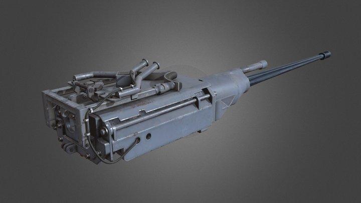M242 without pedestal 3D Model