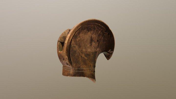 Puusarvi; Naisen päähine (osa); Fierra 3D Model