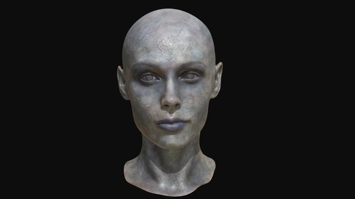 Zombie Girl original 3D Model