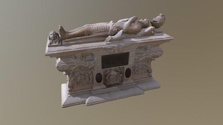 Cénotaphe de Michel de Montaigne (1533-1592) 3D Model