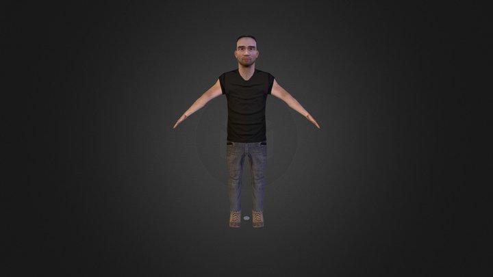 Male Civilian (2013) 3D Model