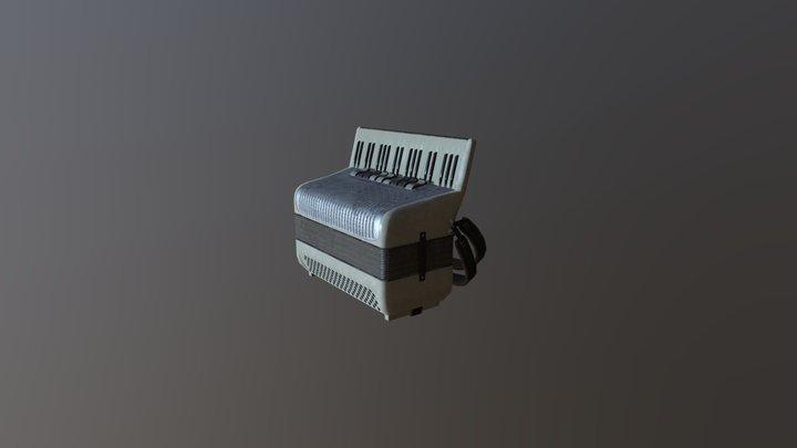 Accordion 3D Model