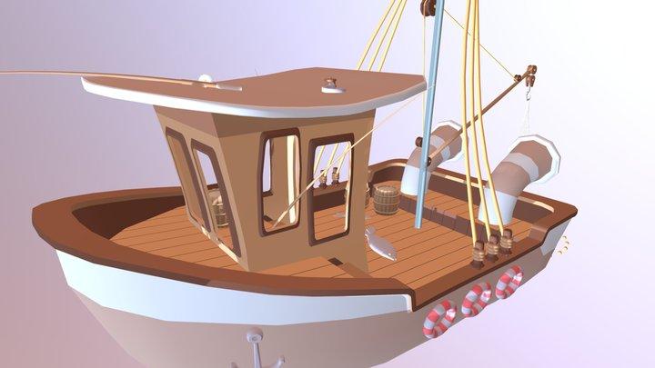 Fishingboat 3D Model