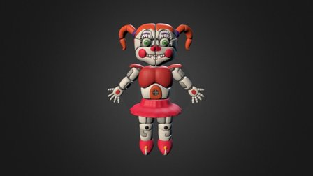 Circus Baby (FNAF Sister Location) 3D Model