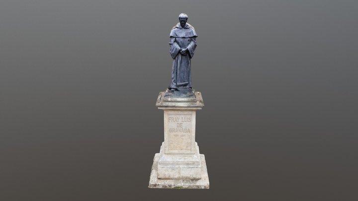 Estatua de Fray Luis de Granada 3D Model