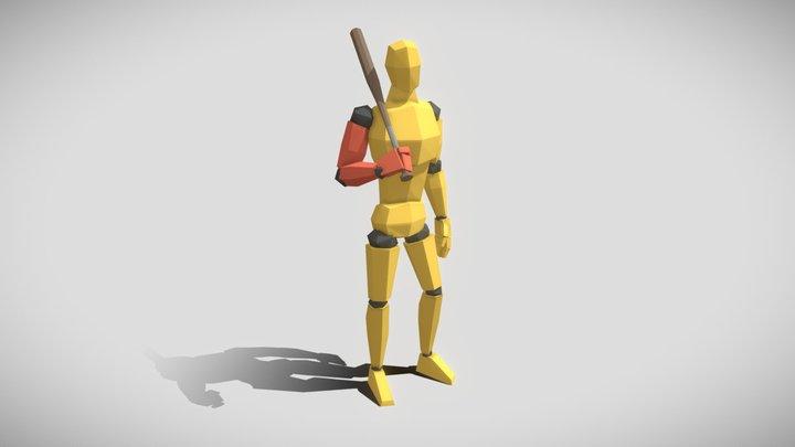 Pose2 3D Model