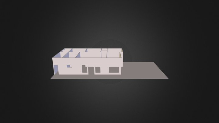 Denah 3D Model