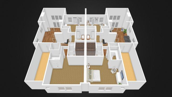 Indian Hills Duplex Second Floor 3D Model