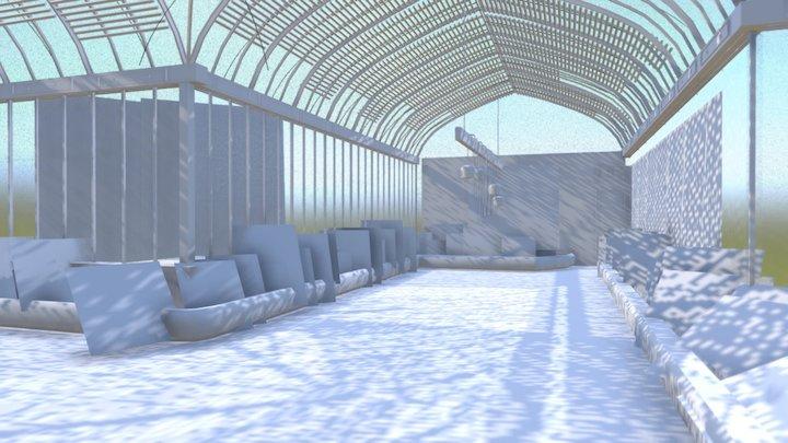 Serre-blanche-light 3D Model