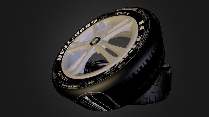 Hot BMW Wheels! (Yes Wheels :D) 3D Model