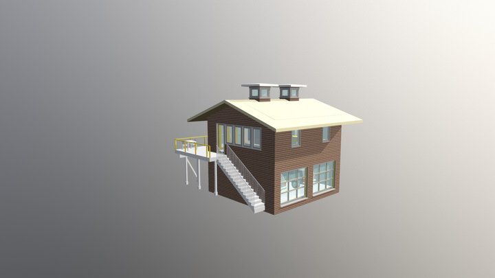 Carriage 4:12 3D Model