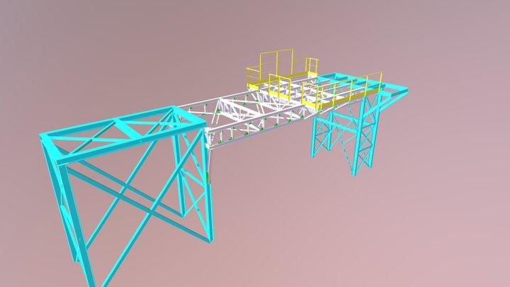 PLATAFORMA - MODELO FINAL 3D Model
