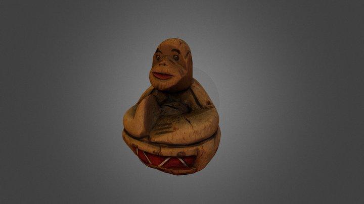 Monkey 3D Scan 3D Model