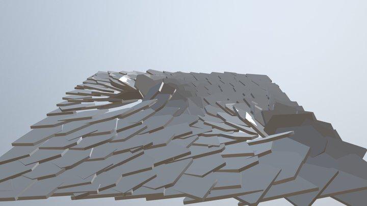 Ice shards 3D Model