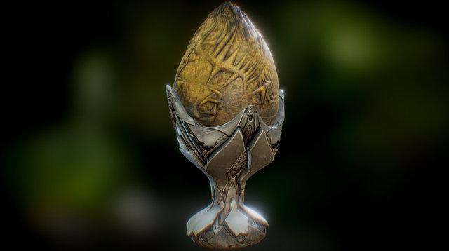 Giger Egg 3D Model