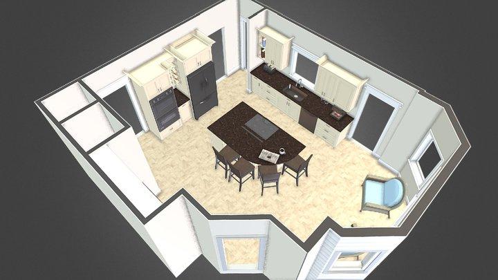 Stoughton Kitchen 3D Model