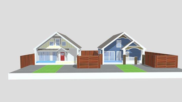 Villas of OZ - Tiffin St. 3D Model