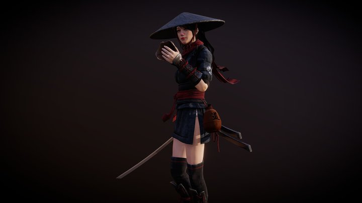 Katanami Shadow Preview 1 3D Model