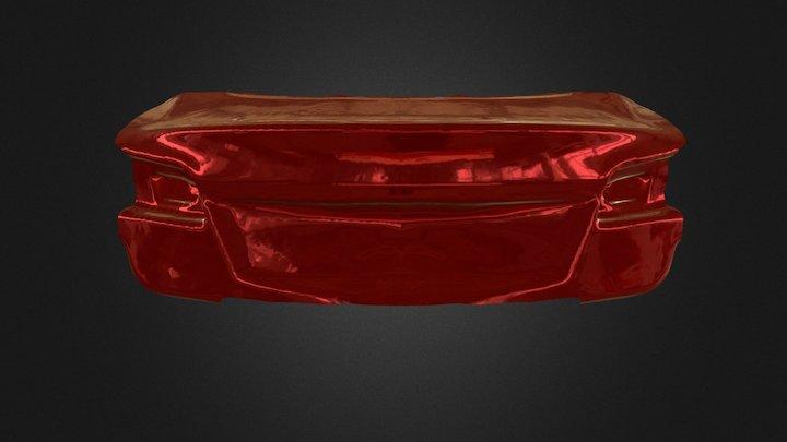3D scan of a car trunk 3D Model