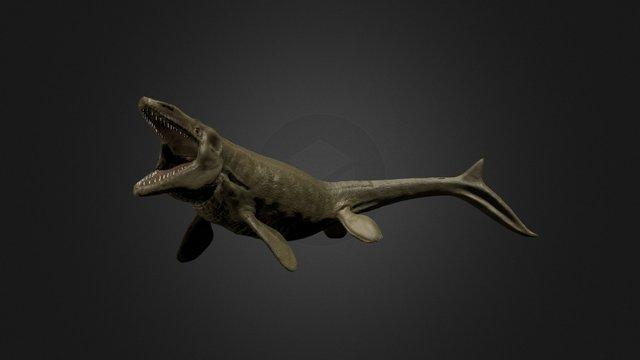 Tylosaurus 3D Model