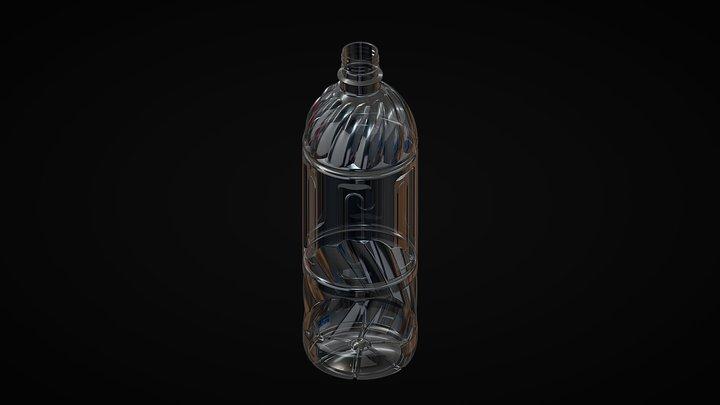 Bottle-1000-B 3D Model